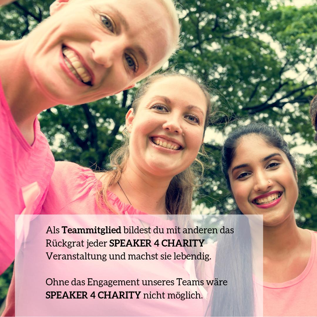 Speaker 4 Charity Team #leben- mach mit